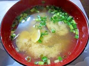 和朝食!しじみと大根のお味噌汁