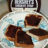 食パンで作るチョコラスク