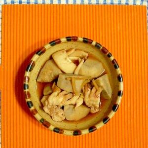 里芋とイカの煮物♪