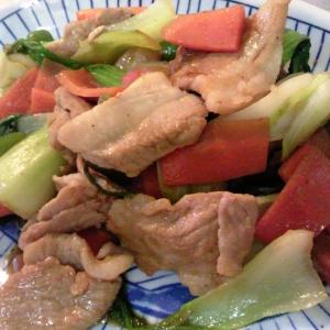 甜麵醤で★豚肉と野菜の甘味噌炒め