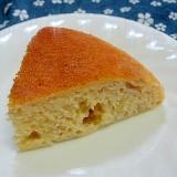 バナナとヨーグルトの炊飯器ケーキ
