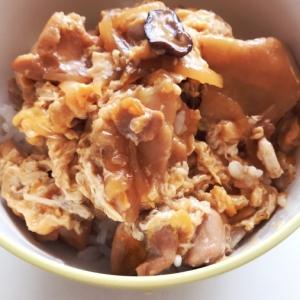 【簡単ランチ】すき焼のたれで簡単!鶏モモ肉の親子丼