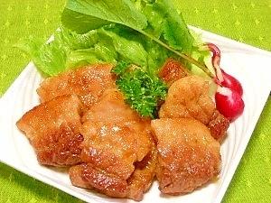 豚肉の柚子胡椒ソテー