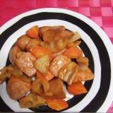 調味料2つで★ソーセージ&根菜のコチュ炒め