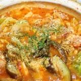 鶏肉のトマト鍋♪