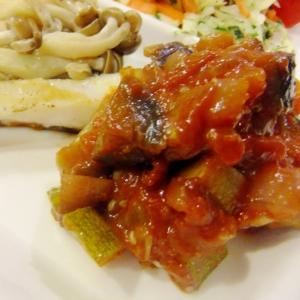 野菜たっぷり♪ラタトゥイユソース
