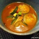 夏に最適☆ズッキーニのカレースープ