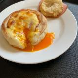 イングリッシュマフィンで簡単朝食