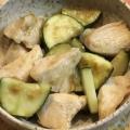 夏にぴったり☀カレー風味の鶏肉とズッキーニ 炒め