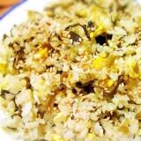 高菜シラス炒飯☆