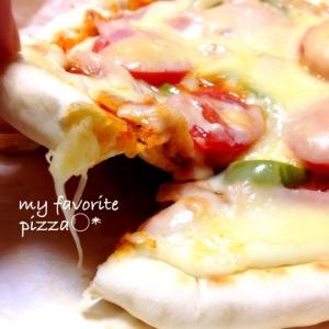 みみからチーズがとろけるピザ♡