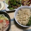タケノコご飯 2種