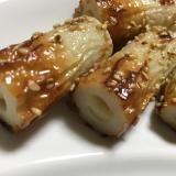 【簡単1品】チーズinちくわの照り焼き★