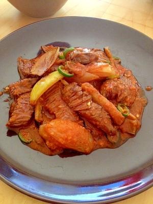 牛肉と野菜炒め東南アジア風