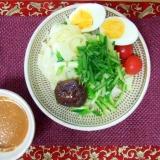 広島つけ麺風ごまだれ冷麺