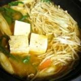 ピリ辛☆豚キムチ鍋♪