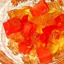 トマトのゼリースープ