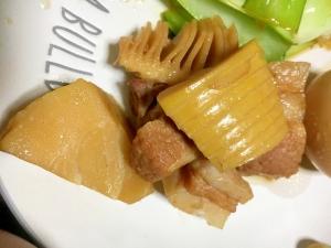 筍と豚ばら肉の煮込み