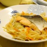 野菜たっぷり★鮭のフライパン蒸し★10分で完成