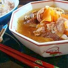 風邪撃退!生姜たっぷり中華スープ