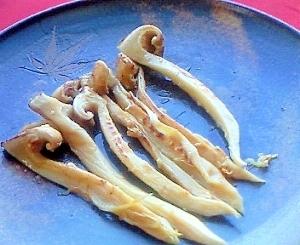 秋の味覚~焼き松茸(塩麹で香り良し)~
