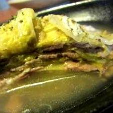 簡単 白菜と豚肉☆洋風☆ミルフィーユ