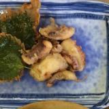 ふわっと美味しいたこの天ぷら