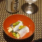 岡山食材、このしろ菜の花巻きのお浸し