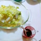 レンジで簡単白菜のおひたし