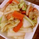 白菜の八宝菜風