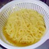 美味しく茹でるスパゲティー(パスタ)