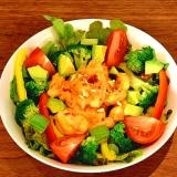 子供が喜ぶ ズワイカニのカニマヨ!サラダ仕立て‼