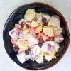 イカとフルーツの簡単サラダ