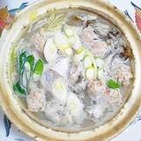 真鱈と、とりごぼうの鍋物