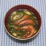 簡単☆風味と旨み濃縮☆乾燥甘エビで味噌汁