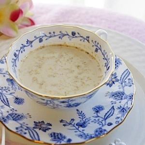 香ばしい!豆乳黒蜜胡麻ミルク