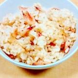 シンプルが一番☆桜えびの炊き込みご飯