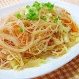 焼きビーフン(炒米線)