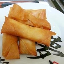 【揚げ物】納豆とキムチの春巻き