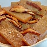 ❤こんにゃくと生椎茸のピリッと甘辛炒め❤