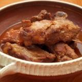 簡単フライパンで作る!スペアリブのお酢煮