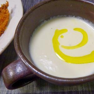 ■10分で..カリフラワークリームスープ