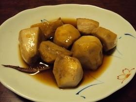 スルメの出汁で煮る!里芋の煮っ転がし