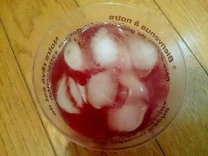 りんご黒酢入り赤紫蘇ジュース