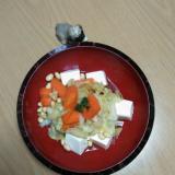 豆腐の煮物