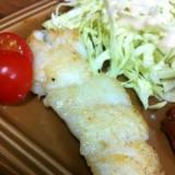 美味し〜い♡鱈のムニエル