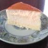 ホワイトチョコ入りスフレチーズケーキ