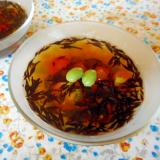 枝豆とひじきのさっぱりゼリー