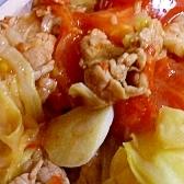 牛肉とトマトの炒め