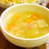 白瓜のスープ